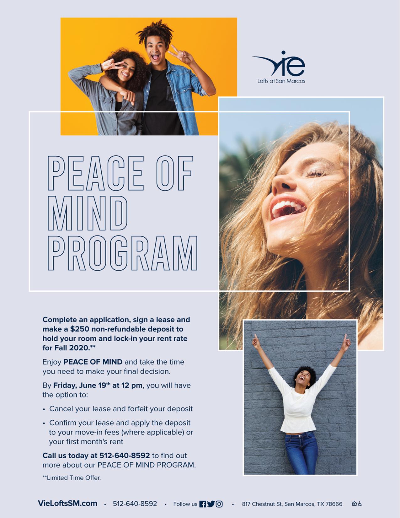 Peace of Mind Program-image